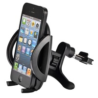 Free Shipping Universal Car Air Vent Mount Holder Cradle for Cellphone iPhone 6  5S 5C 4 4S Black