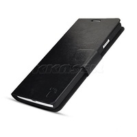 Crazy Horse Leather Magnetic Case w/ Stand For Huawei Ascend G700
