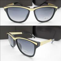 2014 quality glasses trend anti-uv sunglasses personality male women's sun glasses