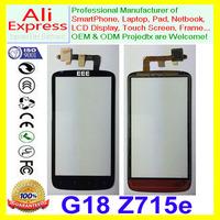 For HTC Sensation XE G18 Z715E Touch Screen Digitizer Glass Lens Black NEW mobile smart phone handwriting screen Repair Parts