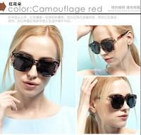 2014 Women Sunglasses sports square big frame vintage retro sun glasses outdoor fashon summer polarzied lense 2052
