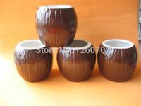 Ceramic Coconut Mugs