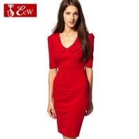 ECW 2015 New Arrivals Fashion Women Dress Spring Slim Bandage Dress Vestidos Femininos Party Dress