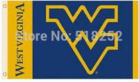 NCAA Virginia Flag 3x5 FT 150X90CM Banner 100D Polyester flag 1036, free shipping
