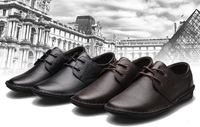 Promotion men's 100% genuine leather shoes,new cowhide shoes,High quality leisure shoes,special offer,free shipping,BBC003