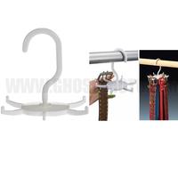 2014 Hot New Novelty Home belt organiser belt rack belt necktie scarf muffler tie holder hanger Neck Tie Hanger home storage
