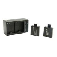 Rechargeable Battery +Travel Charger for SJ4000 SJ 4000 SJ4000 with Double Slot Battery Charger