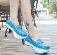 women fashion sneakers sports shoes Negative heel flats casual shoes women wedges sneakers for women platform shoes