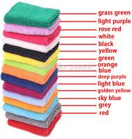 Hot Selling 10Pcs/lot Cotton wrist bands / Sports basketball, volleyball, badminton wristbands / Optional length size