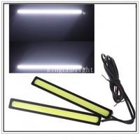 2pcs Super Bright 17cm LED Car DRL lamp Fog Driving Light COB Car LED Daytime Running Light Free shipping!