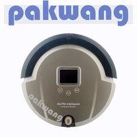 aspiradora robotica,TOP-Grade Multifunctional 6 In1 Robotic vacuum cleaner ,non touch chargebase , patent Sonic wall,UVSterilize