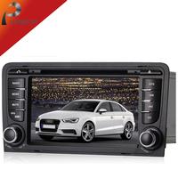 2 din wince 6.0 car dvd gps for audi a3 2003-2011+3g audio bluetooth radio autoradio stereo head unit pc navigation system