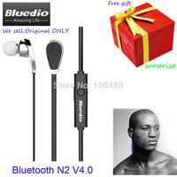 4Free Gifts+Bluedio N2  Bluetooth 4.0 Wireless Sport Stereo Earbuds Earphone Headphone Headset Muti-point Connection Anti Sweat