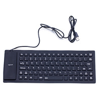 Soft Wired Keyboard Mini Keyboard for laptops & desktops keyboard free shipping