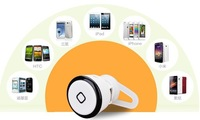 Free shipping Wholesale 100% NEW HOT super mini smallest bluetooth earphone and headphone wireless calling Earbuds
