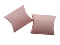 "Free Shipping 50pcs Matt Pink Pillow Box Wedding Favor Party Gift Paper Boxes Apparel Packaging 10x8.5cm(4""x3.3"")"