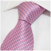 Fashion Man's Pink Silk Neck Tie Gentlemen for formal busniess Worker Marry Wedding Party  Neckties Mens Bowtie