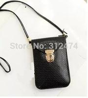 Vintage women shoulder bag cellphone bag mini flap envelope bag free shipping