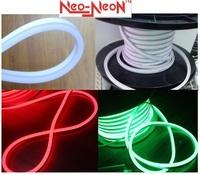 50M 164ft 230v Original Neo-Neon ultra thin LED Neon Flex 8*16mm micro flexible LED neon lights decoration ribbon strip rope