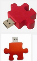 (100PCS)The New Puzzle USB Drives Brand New Capacity Enough U Disk, Jigsaw Puzzle USB Flash Drives, Size:49x46x10mm