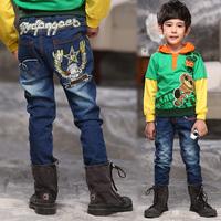 2015 EAGLE BOYS JEAN Xmas Gift Good Elastic Children's jeans Kids Denim Jeans