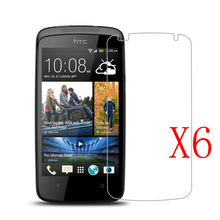 6Pcs Clear Cellphone LCD Screen Protector film Cover For Htc Desire 500