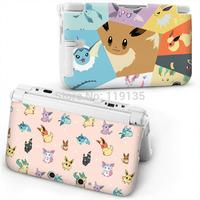 2015 Japan Original New sale anime pokemon ABS Protector Hard Case for 3DS XL FLAREON VAPOREON EEVEE ESPEON JOLTEON