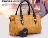 Famous Brands Handbags  Hot Women Genuine Leather Bags Women Handbag Fashion Vintage Bag Shoulder Bags Portable Bag