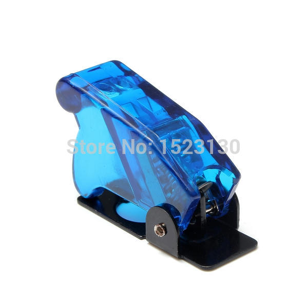 1pc High Quality Blue New Toggle Switch Waterproof Boot Plastic Safety Flip Cover Cap FREE SHIPPING