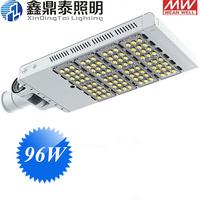 AC85-265V 96W LED street lights New Heatsink Design high quality 96*1W LED STREETLIGHT with meanwell driver