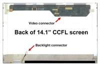 "NEW 14.1"" Laptop LCD CCFL Screen Display LTN141AT03 Series"