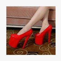 New 20CM Super High Heels Club Performance Ladies Stilettos/Model Catwalk Show High Heels (Szie 35-42)219