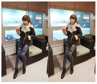coats for women autumn winter coat women's outwear  jacket 2014 fashion new long sleeve free shipping