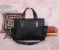 2Size Designer Handbags High Quality Men's Genuine Leather Zipper Handbag DHL Free Shipping Model MY-M6085