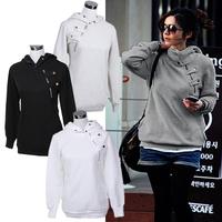 Women Hoody 2014 New Spring Autumn Sweatshirt Printed Sweatshirts Pullovers Hoodie Sport Suit Moleton Feminino Sudaderas Z1206