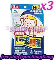1X 14PCS KOBAYASHI SEIYAKU Cooling Gel Sheet(For Body used)