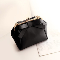 2014 candy bags small bag the trend of casual day clutch shoulder bag messenger bag bow women's handbag
