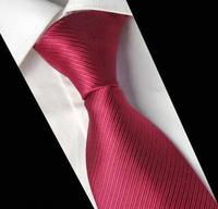 Men's Formal Dresses Solid Red Neck ties Man Fashion Wedding Party Neckties Gravata Masculino 2015
