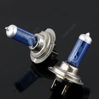 2x Car H7 Xenon Halogen Bulb PX26D Auto HeadLight Kit Super White 6000K 12V 55W