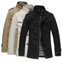 Winter Jacket Men 2104 New Brand Man Jackets Overcoat Fashion Spring Autumn Men's Coat Outerwear Roupas Jaqueta Masculina Z1205