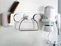 Chuck toilet bathroom shelf Towel wipe boxes hair dryer rack