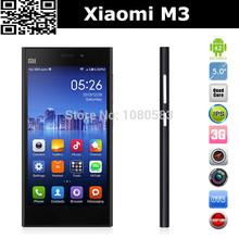 Original Xiaomi Mi3 M3 Qualcomm Quad Core Mobile Phones 2GB RAM 64GB ROM 5 inch 1080p 13MP Camera WCDMA Android 4.4 MIUI