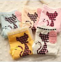 A546 sexy underwear wholesale manufacturers bow  lace cotton low waist underwear briefs
