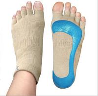 Professional Women's Home YOGA Socks Ladies' Casual Cotton Toe Toeless Special Sports Silicone Gel Socks Non slip