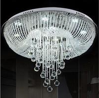 Modern LED k9 crystal chandeliers bedroom living room dining  chandelier Circular fashion LED crystal chandelier