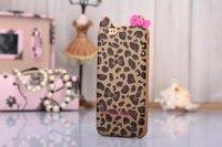 Hello Kitty Leopard Flower Bowknot Soft TPU Case For iphone 6 Air 6G 6th 4.7 Fashion tpu silicone Skin case