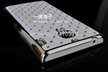 free shipping High quality fashion series Diamond Bling Chrome Rhinestone Hard baCover For Xiaomi 2A Miui M2A