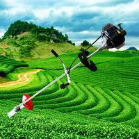 Four stroke gasoline engine hanging 139 mower brush cutter harvestable weeding machine