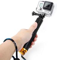 2014 New gopro Aluminum Extendable Pole Telescoping Handheld Monopod with Mount Adapter for GoPro Hero 1/ 2/ 3 3+ 4 SJ4000