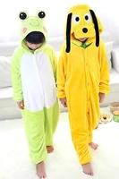Cute dog and flog Unisex animals Pyjama Children Cosplay Costume winter Home sleepwears